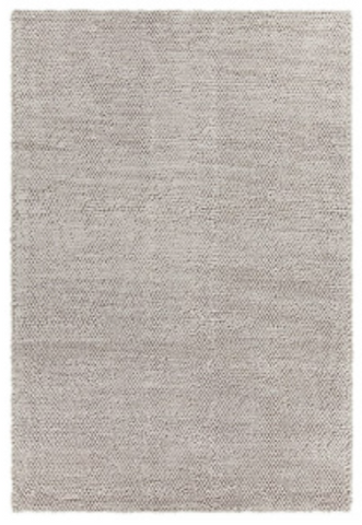 Rug- Wool Tufted 8x10 silver