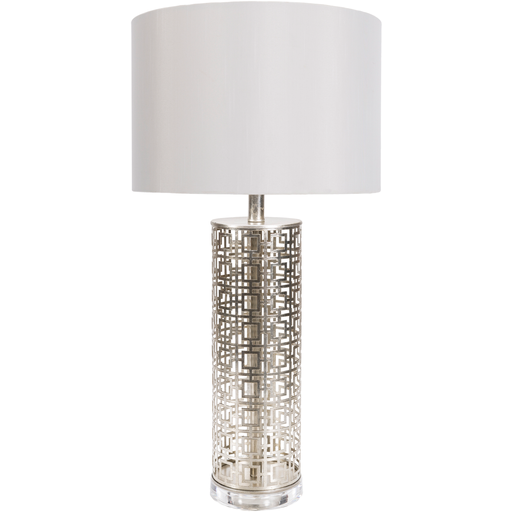 Silver Screen Table Lamp