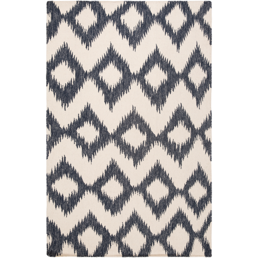 Navy & Cream Chevron