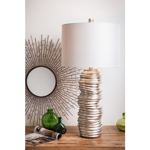 Coiled Table Lamp