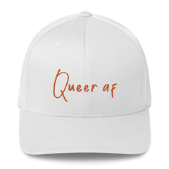 Queer AF | Fitted Baseball Hat