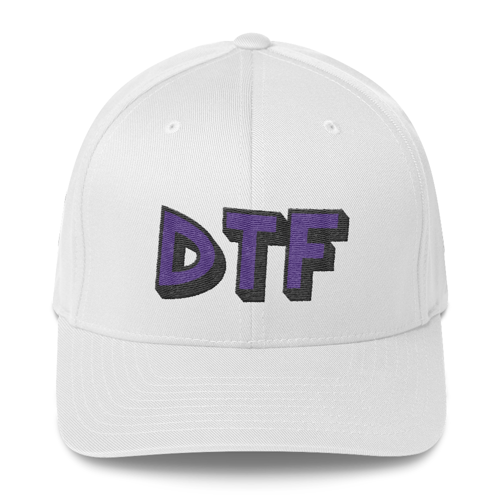 DTF | Fitted Baseball Hat