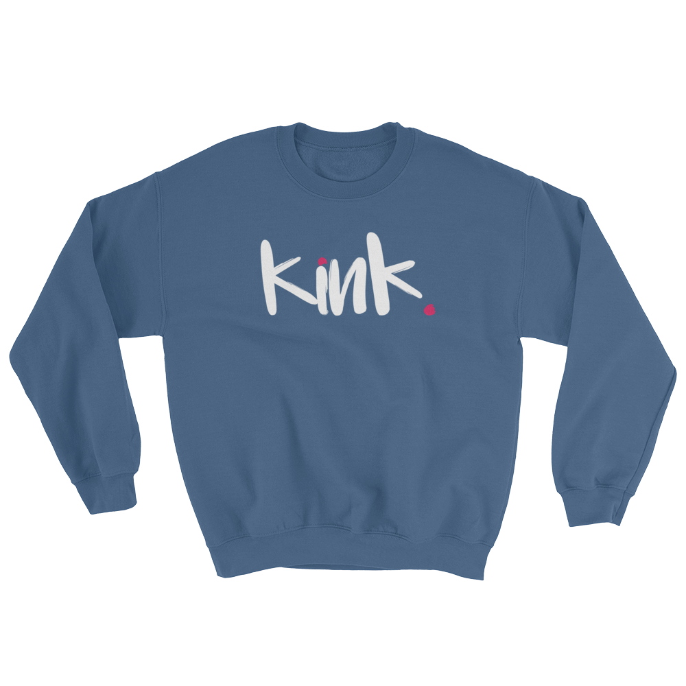 sex positive men's sweatshirt - Kink, kinky