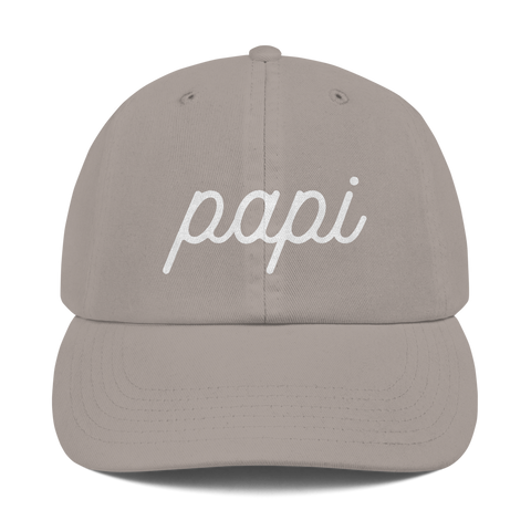 Papi | Champion Dad Cap