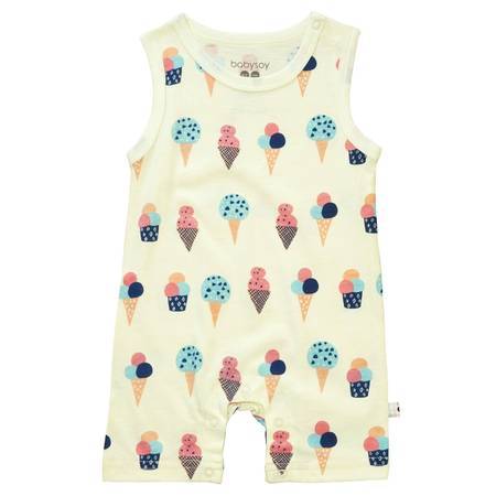 Ice Cream Tank Top Romper