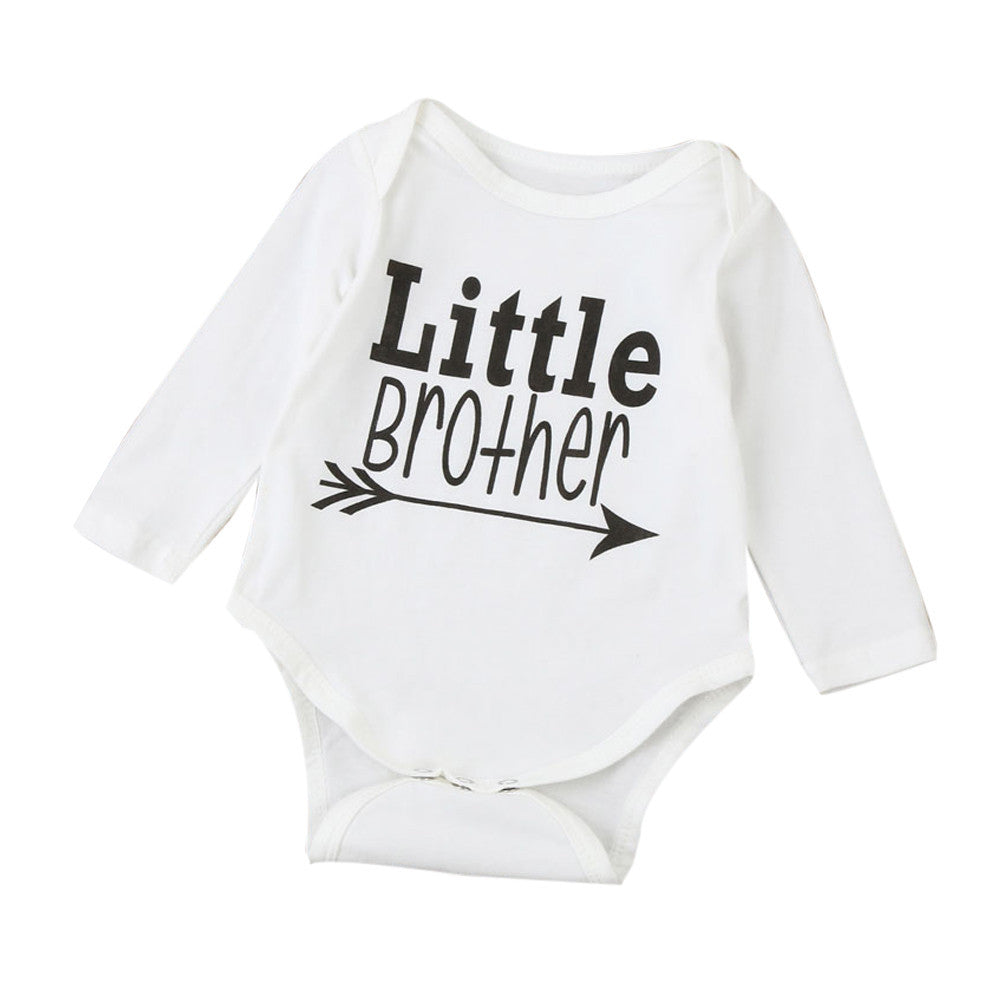 Little Brother Long Sleeve Onesie