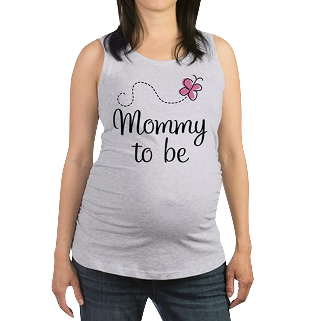 Mommy to Be Butterfly Tank top