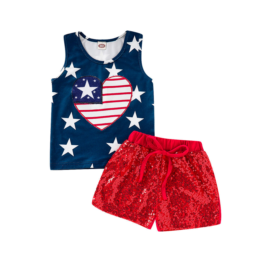 4th of July Tank and Short Set