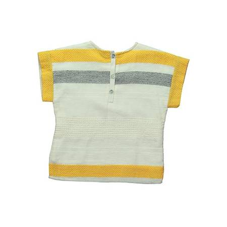 Yellow Lacery Top