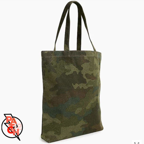 Canvas Tote. Camo Tote. Camouflage Tote. Camo Bag. Personalized Tote. Monogrammed Tote. Monogram Shop. Embroidered Name Tote. Custom tot -