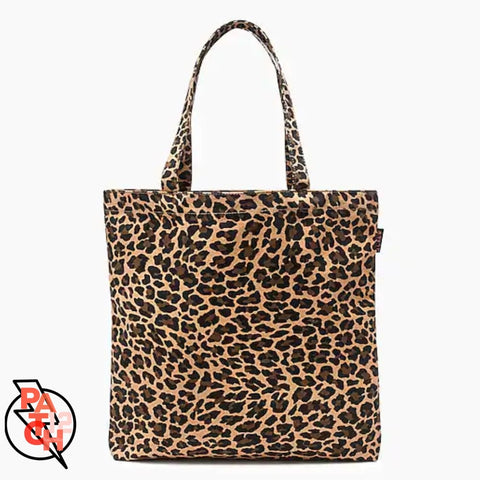 Canvas Tote- Small- Leopard LIMITED Qtys remain. Leopard Print. Personalized Tote. Bachelorette Bag. Party Bag. Custom Tote. - Bags & Purses