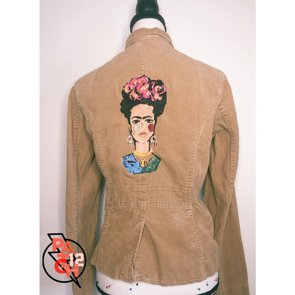 Frida. Corduroy Blazer - Womens Medium - Jacket