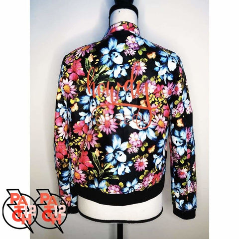 Howdy Gorgeous. Floral Bomber Jacket - Womens XL size 14-16 - Clothing