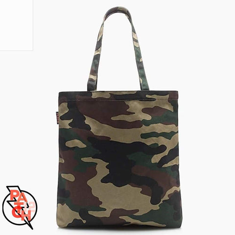 Canvas Tote-Dusty Green Camo.  Only 14 left. Camouflage Tote. Customized Tote. Personalized Totebag