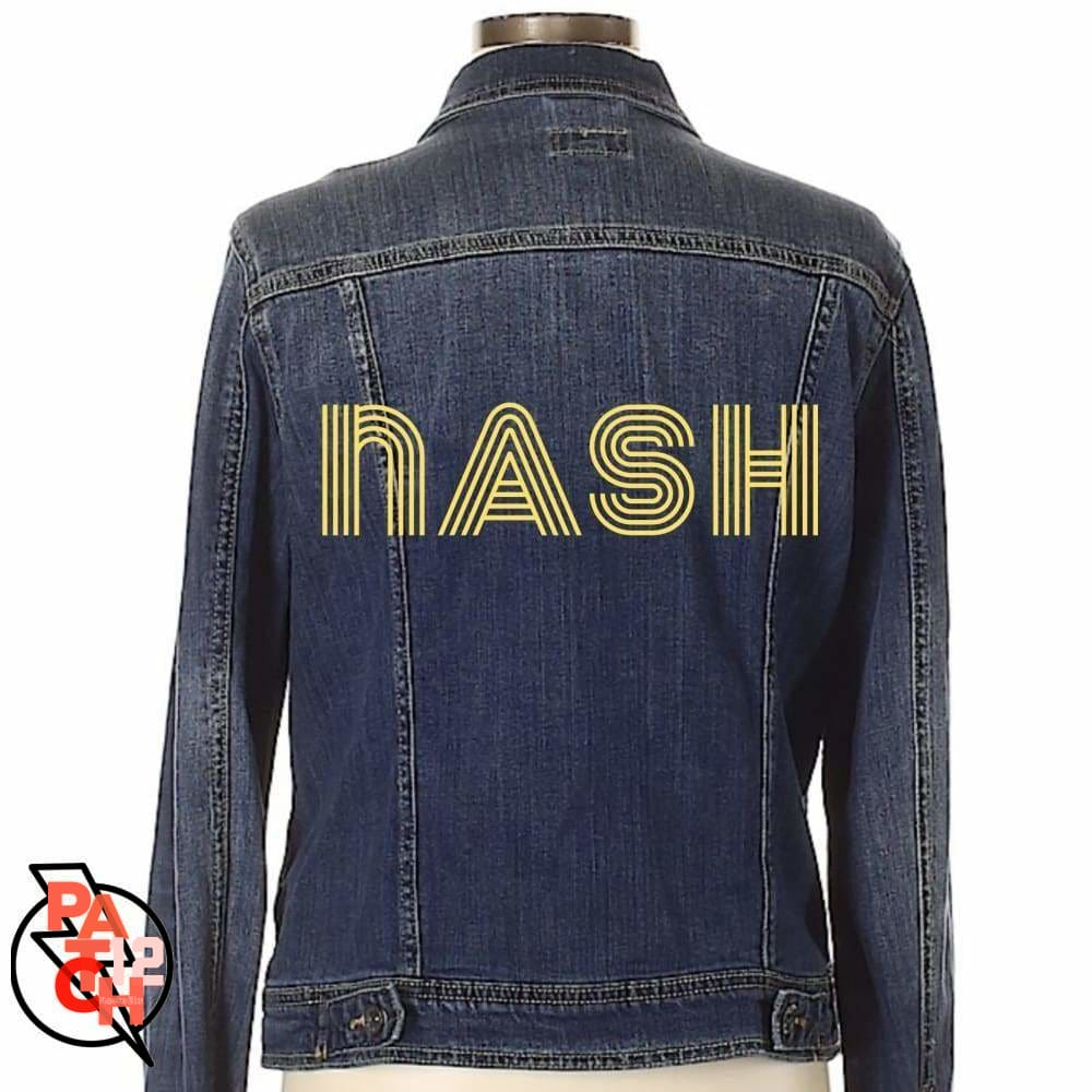 nash. Yellow Embroidery. Embroidered jacket - Clothing