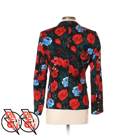 Vince Camuto Floral Blazer- Womens Small Size 2. Statement jacket. Patch12 - Clothing
