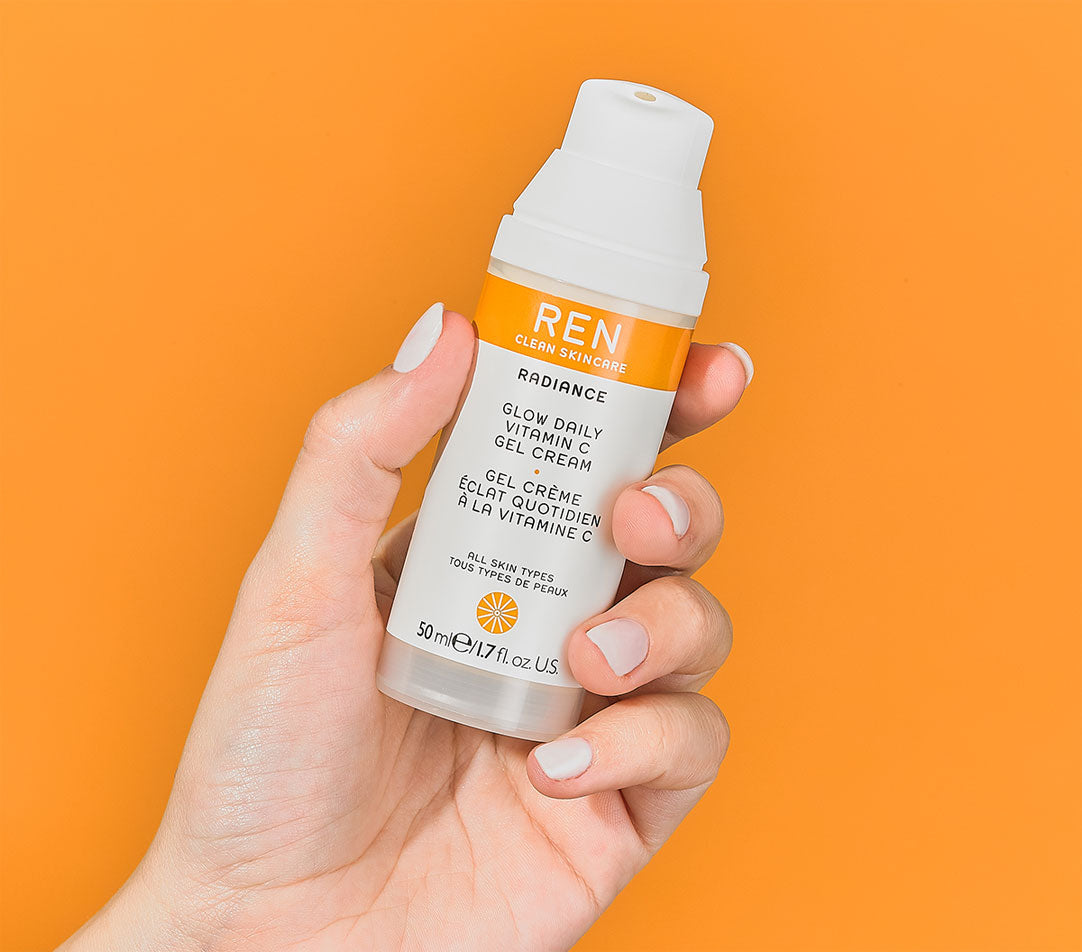 Glow Daily Vitamin C Gel Cream.