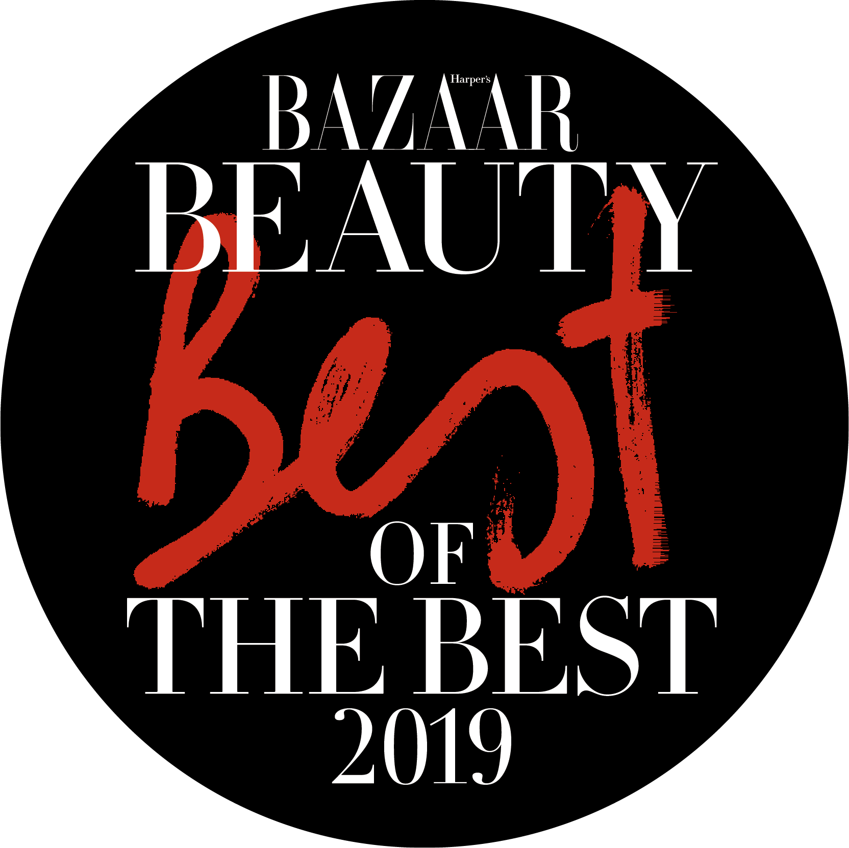 Bazaar Beauty 2019 badge
