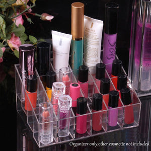 Acrylic 24 Lipstick Holder Display Stand
