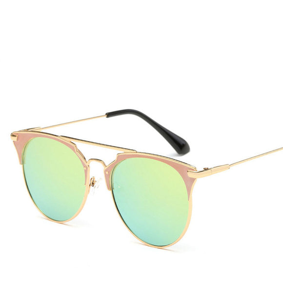 Luxury Vintage Mirror Sunglasses