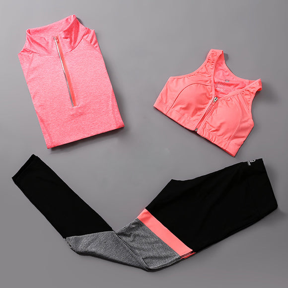 Women's Warm up Fitness Set (3 Piece)