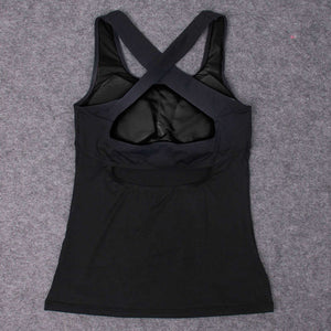 Cross Back Dry Fit Top