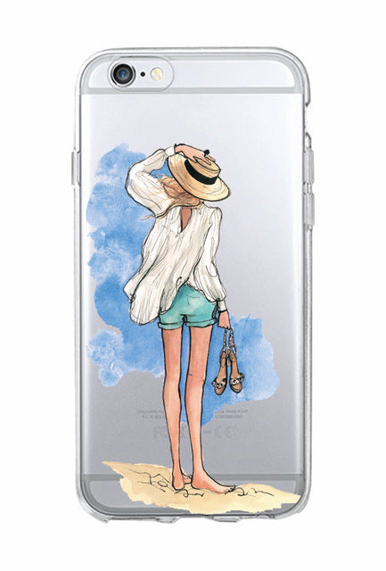 Classy Paris Girl Phone Case - IPHONE