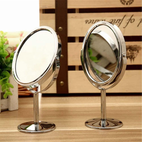 Circular Magnifying Makeup Mirror with stand