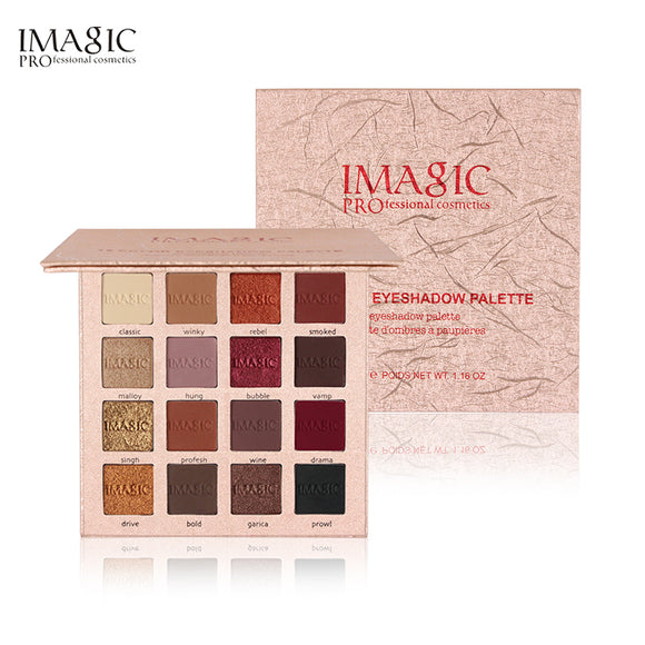 16 Color Eyeshadow Palette by IMAGIC PROfessional Cosmetics