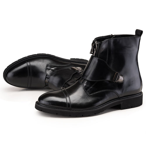 Zip Fashion Ankle Boots