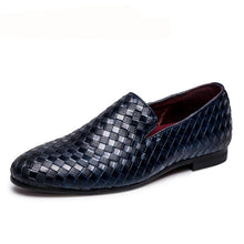 Brand Braid Leather Casual Driving Oxfords Moccasins