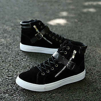 Punk Rock Chain High Tops