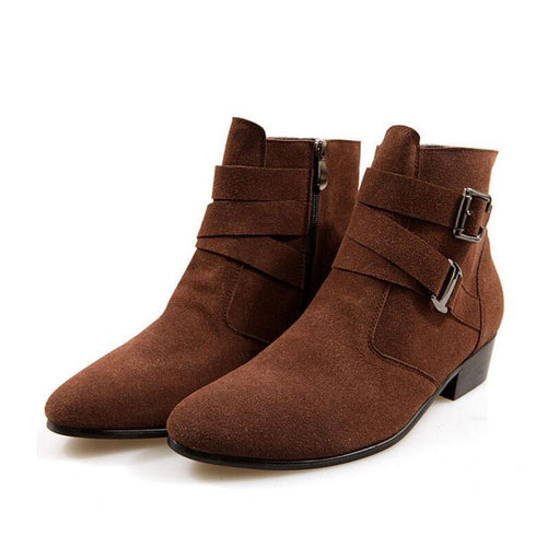 4 colors stylish ankle boots