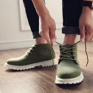Hemp Upper Ankle-Boots