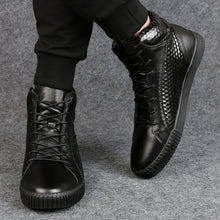Cow Leather Warm Waterproof High-Tops