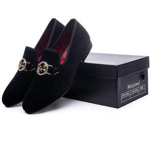 Luxury Loafers Golden Horse