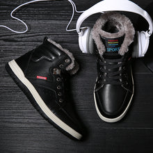PU Leather Winter Sneakers