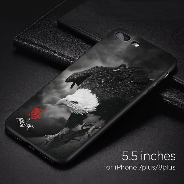 Silky Eagle™ Case For iPhone