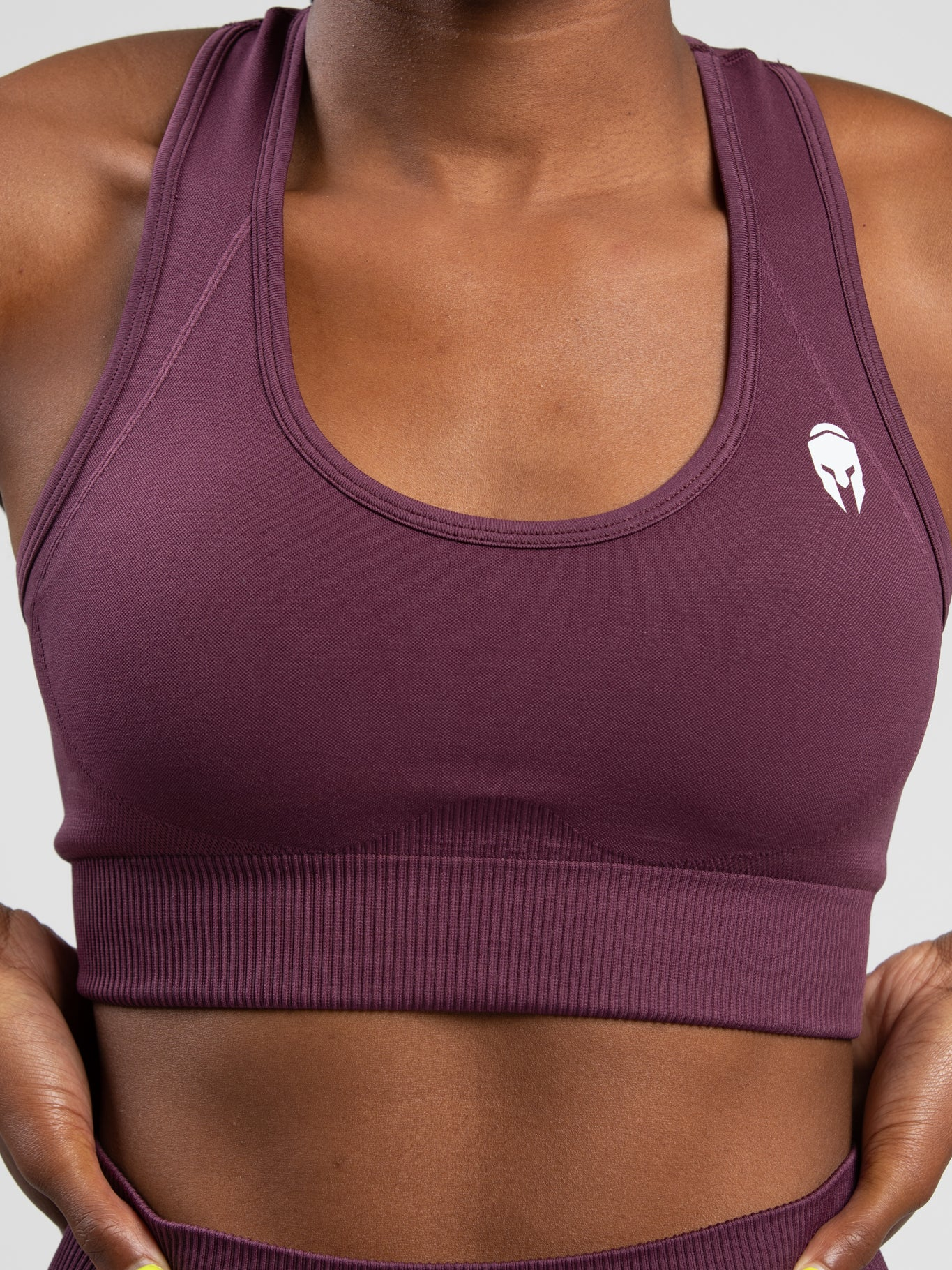 VBRNT Sports Bra - Purple