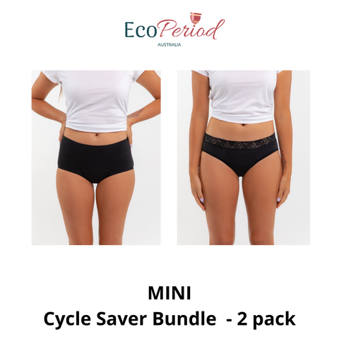 Mini Cycle Saver Bundle - 2 pack - Eco Period Australia