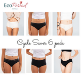 Ultimate Cycle Saver Bundle - 6 pack + Gift - Eco Period Australia
