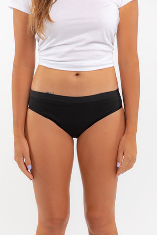 Youth Orgaknix Bikini - Black (15-20ml) - Eco Period Australia