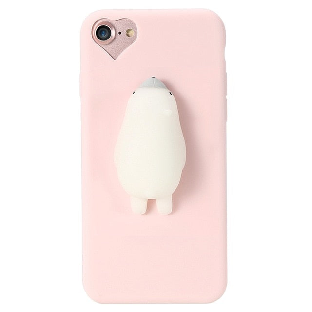 e18f8ca58d72dc Squishy 3D Soft Silicone Case For Iphones — pigustyle