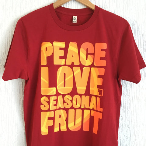 Men's / Unisex Seasonal Fruit T-Shirt