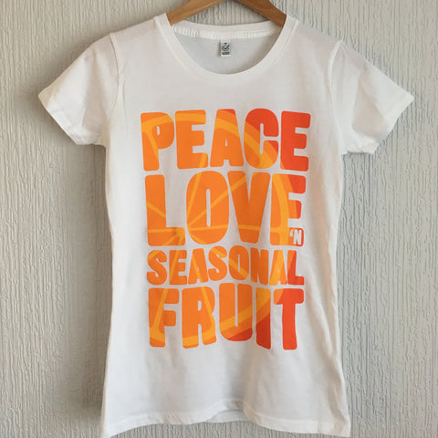Women's Slim Fit Seasonal Fruit t-shirt