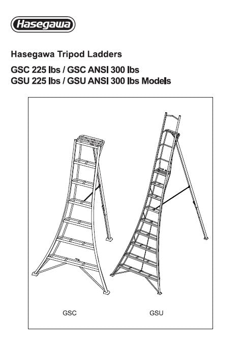 Tripod Ladder Safety & User Guide