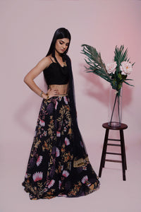Midnight Lotus Skirt