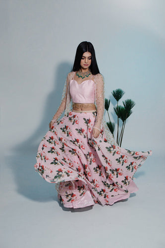 French Rose Skirt