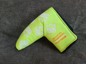 NEW Scotty Cameron 2004 Dancing Custom Shop Sublime Lime Putter Headcover