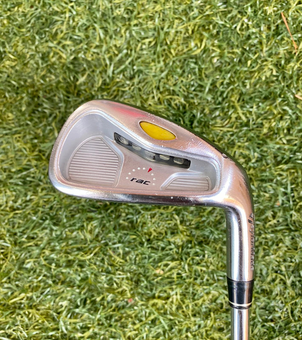 TaylorMade RAC LT 7 Single Iron, RH, TaylorMade T-Step Professional Stiff Steel Shaft- Good Condition
